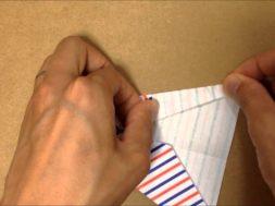 簡単折り紙★ よく飛ぶ『紙飛行機』の折り方 ★