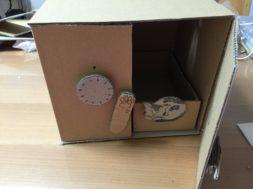 ダイヤル式金庫 仕組み 作り方 段ボール工作 貯金箱