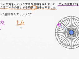 たし算の文章問題:車輪