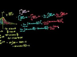 端点が両方とも無限大の広義積分