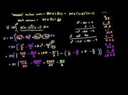 バームクーヘン法の例の積分を解く
