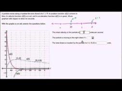 グラフに基づいて粒子の移動を解析する