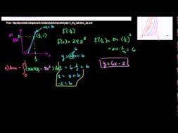 2011年微積分AB 記述式3(a)(b)
