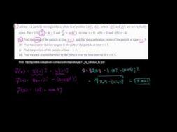 2011年微積分BC記述式1(a)