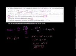 2011年微積分BC記述式1(b)(c)