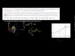 2011年微積分BC記述式3(b)(c)