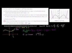 2011年微積分BC記述式6(d)