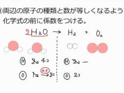 【中学2年・理科 11-6】化学反応式のつくり方