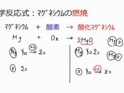 【中学2年・理科 12-3】マグネシウムの燃焼