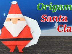折り紙 サンタクロースの作り方