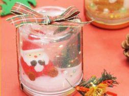クリスマスの世界をプレゼント!「スノードーム」の作り方