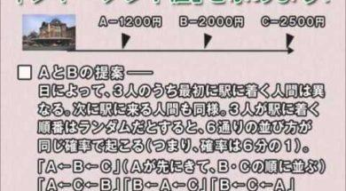 【第6回ゲーム理論】協力ゲーム理論2