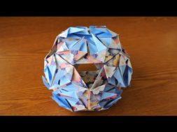 折り紙6枚で作る簡単「くす玉」