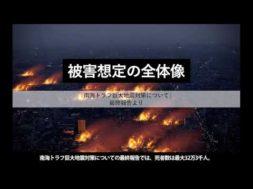 【南海トラフ巨大地震・西日本大震災】衝撃のシミュレーションCG