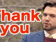 「thank you」と言われたら、英語でなんと言えば自然なの?