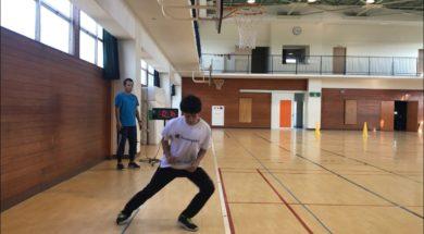 反復横跳びの指導法