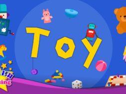キッズ語彙- 玩具 – おもちゃの単語