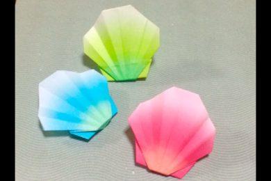 折り紙 貝