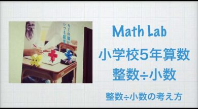 小学校5年 算数  整数÷少数 整数÷少数の考え方