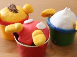 可愛い♪おしりカップケーキの作り方【ディズニーキャラクター】