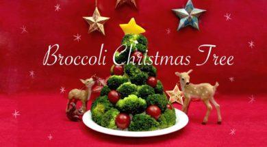 ★食べられるクリスマスツリーの作り方★