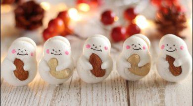 ★スノーマンのメレンゲクッキーの作り方★