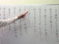 【中学受験】国語・文法「らしい」を識別する
