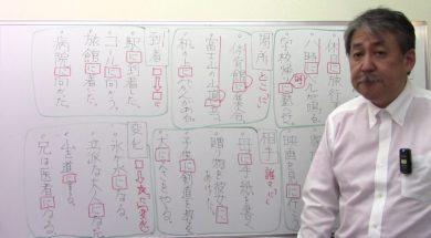 【中学受験】国語・文法 助詞「に」を識別する