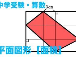 【中学受験・算数】平面図形・面積【予備校講師の授業】
