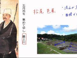 【社会科】日本の地形と気候~日本の川~