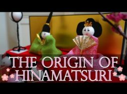 The origin of Hinamatsuri (Girl's Day in Japan)!