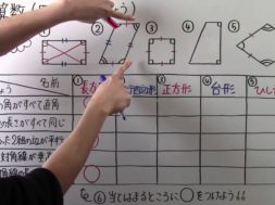 いろいろな四角形③ 小学4年生 算数