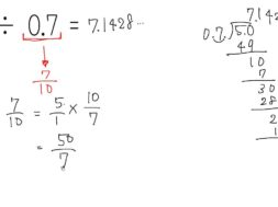 分数と小数の混じったかけ算、わり算 小学6年生 算数