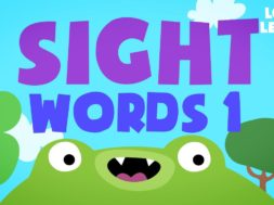 Kids Reading Lesson 3 – Sight Words 1