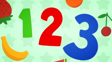 123 for Kids – Fruit Counting for Preschoolers 1-10