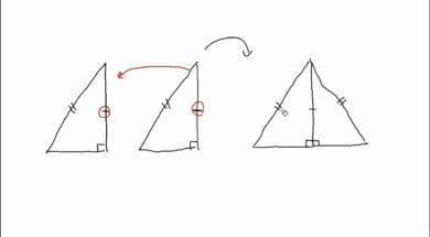 【中学2年 数学】直角三角形の合同条件の証明
