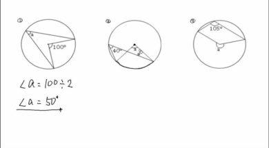 【中学3年 数学】円周角の定理 問題①