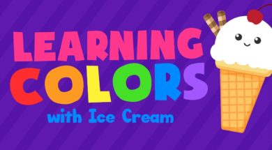 Colors for Kids – Learn Colors with Ice Cream 4k