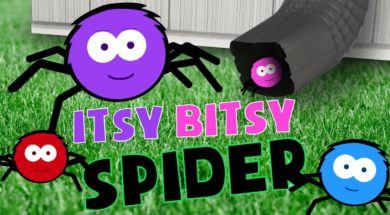 ITSY BITSY SPIDER SONG – Nursery Rhymes for kids
