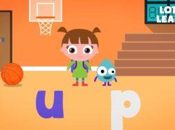 Kids Reading Lesson 11 – Two Letter Blending with Short U