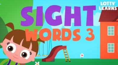 Kids Reading Lesson 12-LEARN TO READ Sight Words GAME