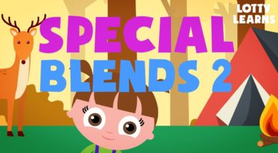 Kids Reading Lesson 14 –  Special Letter Blends 2