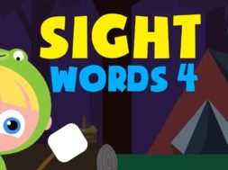 Kids Reading Lesson 15-High frequency words