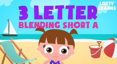 Kids Reading Lesson 16 – Three Letter Blending with Short A