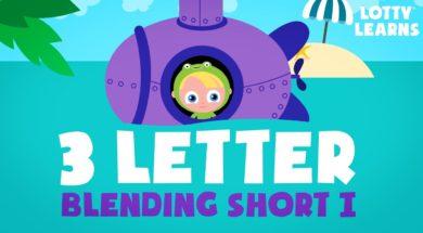 Kids Reading Lesson 18 – Three Letter Blending with Short i