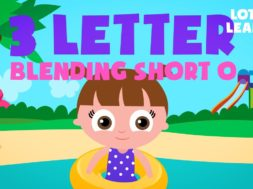 Kids Reading Lesson 19 – Three Letter Blending with Short O