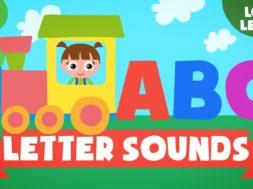 Kids Reading Lesson 5 – Letter Sounds CHOO CHOO Train -ABC Phonics