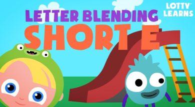 Kids Reading Lesson 8 – Two Letter Blending with Short E