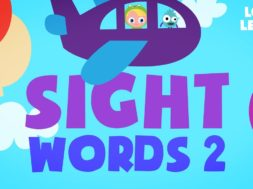 Kids Reading Lesson6-Sight Words-High Frequency words