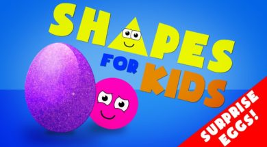 Shapes for kids – Colors and Shapes